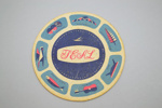 Coaster [Teal]; Tasman Empire Airways Limited (New Zealand, estab. 1940, closed 1965); 2002.82.6