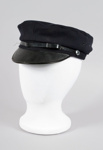 Uniform Hat [Engine Drivers Cap]; New Zealand Rail, Kaiapoi Woollen Manufacturing Company Limited (New Zealand, estab. 1878, closed 1978); 2014.346