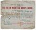 City of Auckland taxi cab or motor car driver's license : Jessie Thorrington; Auckland City Council (closed 2010); 1917; 96/005/005