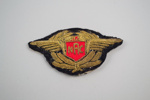 Badge [NAC]; National Airways Corporation (New Zealand, estab. 1947, closed 1978); 2002.88