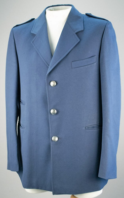 Uniform Jacket [Rail]; A Levy Limited (New Zealand); F249.2001