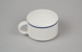 Teacup [Air New Zealand]; Royal Doulton (England, estab. 1815); Ansett New Zealand (estab. 1987, closed 2001); 2016.59.5