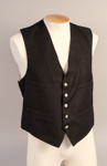 Uniform Waistcoat [NZ Railways]; New Zealand Rail; 1930s-1940s; 1999.13.1