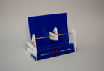 Leaflet Display Stand [NAC]; National Airways Corporation (New Zealand, estab. 1947, closed 1978); 2016.62.1