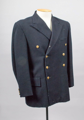 Jacket [Mens Suit]; Dalton Garment, New Zealand, Auckland Harbour Board (estab. 1871, closed 1988); F243.2001