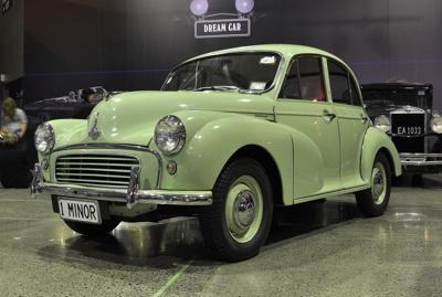 Automobile [Morris Minor 1000]; Morris Motor Company Limited (England, estab. 1910, closed 1984); 1962; 2001.10