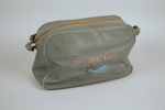 Airline Bag [Teal]; Tasman Empire Airways Limited (New Zealand, estab. 1940, closed 1965), Deco Plastics; 2011.423