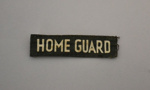 Patch [Home Guard]; New Zealand Home Guard (estab. 1940, closed 1943); 2003.625