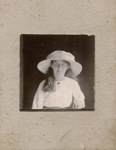 Photograph of young woman; Unidentified; 13-1050