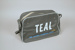 Cabin Bag [Teal]; Duffy Electronics Private Limited (Australia, estab. Circa 1947), Tasman Empire Airways Limited (New Zealand, estab. 1940, closed 1965), Deco Plastics; 2004.576