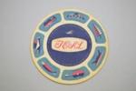 Coaster [Teal]; Tasman Empire Airways Limited (New Zealand, estab. 1940, closed 1965); 2002.82.19