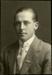 Black and white studio portrait of Frederick Stanley Gordon; Circa 1918; 04/071/051