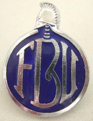 Badge [Fire Brigade Union]; F793.2002