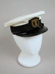 Uniform Hat [Teal]; Hills Caps Limited (New Zealand, estab. 1875), Tasman Empire Airways Limited (New Zealand, estab. 1940, closed 1965); F2390.2004