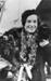 Jean Batten arriving in Auckland by ship after her U.K. - Australia flight in Gypsy Moth May 1934.; Unidentified; 10-0857