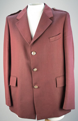 Uniform Jacket [Rail]; A Levy Limited (New Zealand); F266.2001