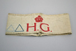 Armband [Home Guard]; New Zealand Home Guard (estab. 1940, closed 1943); 2003.623