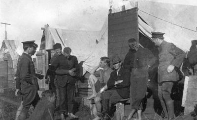 New Zealand Flying School trainees at Kohimarama; Unidentified; 10-0912