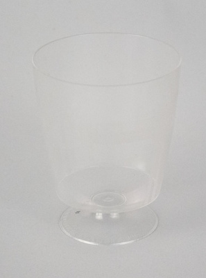 Wine Glass [NAC]; A.H.L. Plastic Products Moulding Co.; National Airways Corporation (New Zealand, estab. 1947, closed 1978); 2016.149.11