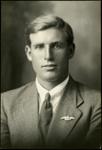 Black and white studio portrait of William Francis Warner; Circa 1918; 04/071/025