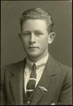 Black and white studio portrait of Dawson Trevor Goodson; Circa 1918; 04/071/018