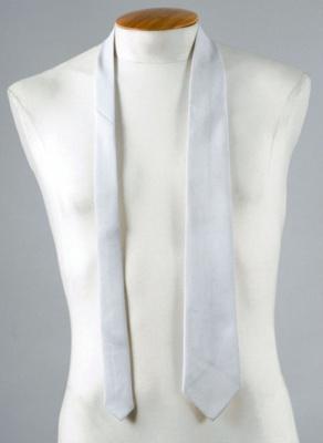 Uniform Tie [Silver Star]; New Zealand Rail, John Webster Limited; 1971; 2014.356