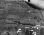 New Zealand Flying School, Aerial view of tents; Unidentified; 10-0990
