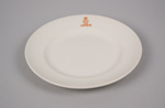 Dinner Plate [New Zealand Railways]; Crown Lynn Potteries (New Zealand, estab. 1948, closed 1989); New Zealand Railways; 2016.79.15