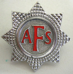 Hat Badge [Auxillary Fire Service]; J R Gaunt and Son Limited (England, estab. 1870); 1982.53.22