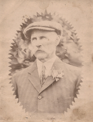 Photograph of a man; Unidentified; 13-1068