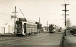 Trams  Auckland,  Dominion Rd; Graham C. Stewart (b.1932); 14-0121