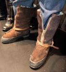 Uniform Boots [Flight Crew]; ITS Rubber Company Limited; 2004.173