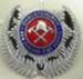 Badge [Christchurch New Zealand Fire Service]; 1982.53.75