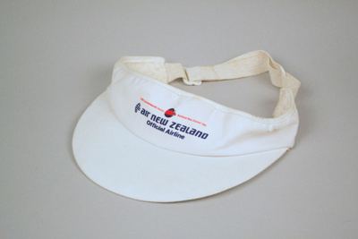 Visor [Air New Zealand Commonwealth Games]; Air New Zealand Limited (New Zealand, estab. 1965); 1990; 2016.50.3