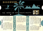 [Cocktail guide] Discover..the 'Spirit of the South Pacific'; Tasman Empire Airways Limited; 04/070/089