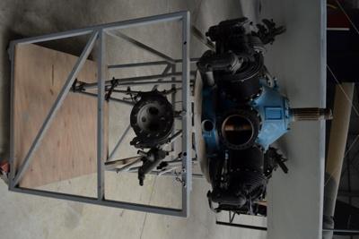 Aeroplane Engine [Scarab]; Warner Aircraft Corporation; 2011.233