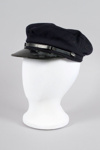Uniform Hat [Engine Drivers Cap]; New Zealand Rail, Kaiapoi Woollen Manufacturing Company Limited (New Zealand, estab. 1878, closed 1978); 2014.345