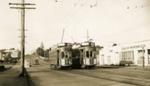 Trams  Auckland,  Dominion Rd; Graham C. Stewart (b.1932); 14-0120