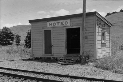 Photograph of Hoteo station; Les Downey; 1972-1976; 14-1005