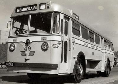 New ATB diesel bus; Graham C. Stewart (b.1932); 08/092/086