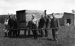 New Zealand Flying School, trainees carrying crate at Kohimarama; Unidentified; 10-0940