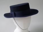 Uniform Hat [Air New Zealand]; Isabel Harris, Air New Zealand Limited (New Zealand, estab. 1965), The Hat Factory, Thornton Hall (New Zealand, estab. Circa 1969); 1987-1992; 2016.35.4