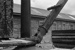 Photograph of coal crane; Les Downey; 1972; 14-3397