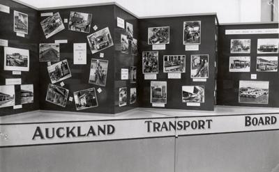 ATB photographic display; Graham C. Stewart (b.1932); 08/092/118