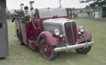 Photograph of fire engine; Les Downey; 1972-1976; 14-4149