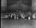Group portrait in dance hall; Unidentified; 1930s; 13-2136
