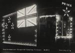 Peace Celebrations. Illuminated tram car [no. 17]. Auckland.; Unknown Photographer; 21 Jul 1919; PHO-2017-5.7