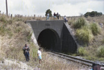 Photograph of Bickerstaffe tunnel; Les Downey; 1987; 14-4221