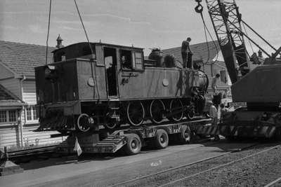 Photograph of locomotive WW 491; Les Downey; 1972-1976; 14-1103