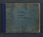 G-ADPR aircraft log book; The Shuttleworth Collection of Old Warden Aerodrome (estab. 1944); Hunting Percival Aircraft Limited; Great Britain. Royal Air Force; Jean Batten (New Zealand, b.1909, d.1982); Air Ministry (England, estab. 1918, closed 1964); 11 Sep 1935-02 Oct 1994; MSS-2017-22.26